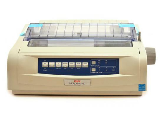 Okidata Microline 420 USB Printer - Beige (62418701) D22900A - Refurbished