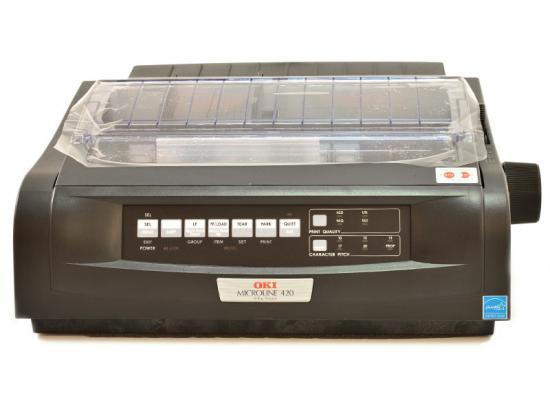 Okidata Microline 420 USB Printer - Black (91909701) D22200A - Grade A