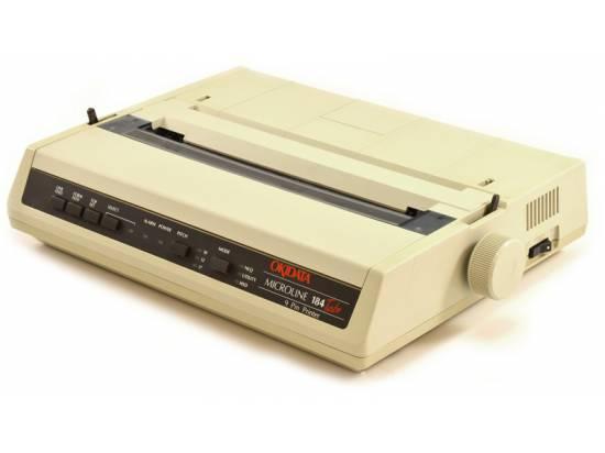 Okidata Microline 184 Turbo Printer - Epson / IBM Emulation (62408901)