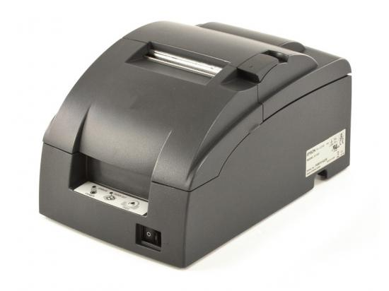 Epson TM-U220B Ethernet Receipt Printer - Black