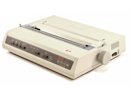 Okidata Microline 186 Dot Matrix USB Printer (ML186) (62422301) D22300A