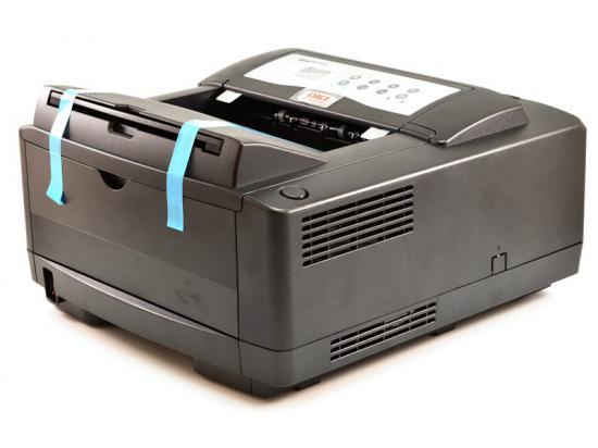 Okidata B4600nPS Parallel Ethernet USB  Monochrome Laser Printer w/ Adobe Postscript 3 - Black (62446606)