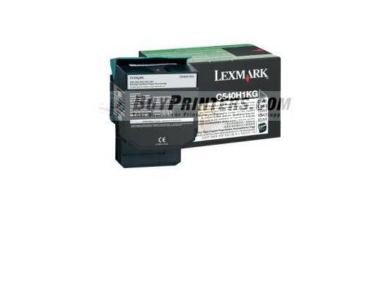 Lexmark High Yeild Return Toner Black C540A1KG