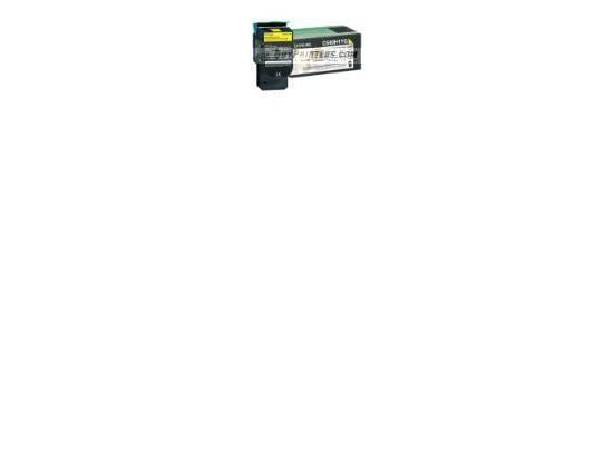 Lexmark High Yeild Return Toner Yellow C540A1YG