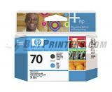 HP C9404A Matte Black Printhead  #70