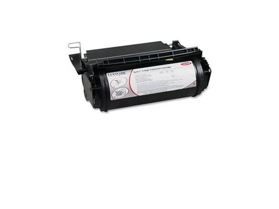 Lexmark 1382625 Black Toner Cartridge Remanufactured