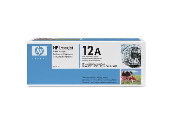 HP Q2612A OEM Black Toner Cartridge