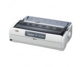 Okidata ML621 Parallel USB 9-Pin Dot Matrix Impact Printer - White