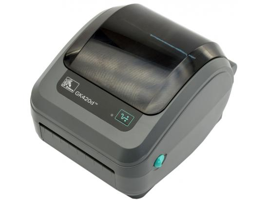 Zebra GK 420d 	Serial & USB Bar Code Printer