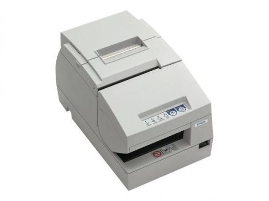 Epson TM-H6000III Serial Multifunction Printer w/ MICR & Endorsement (M147G) - White