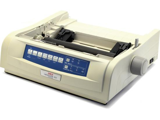 Okidata Microline 420 USB Printer - No Accessories - Beige (62418701) D22200A - Grade A