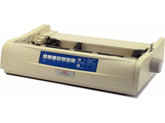 Okidata Microline 421 USB Printer - No Accessories - Beige - Grade A