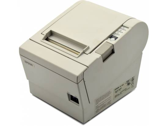 Epson TM -T88II Serial Receipt Printer (M129B) - White - Grade A