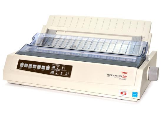 Okidata Microline 321 Turbo Parallel USB Printer (62411701)