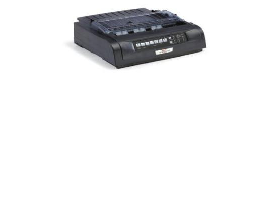 Okidata Microline 421n Parallel Ethernet USB Printer - Black