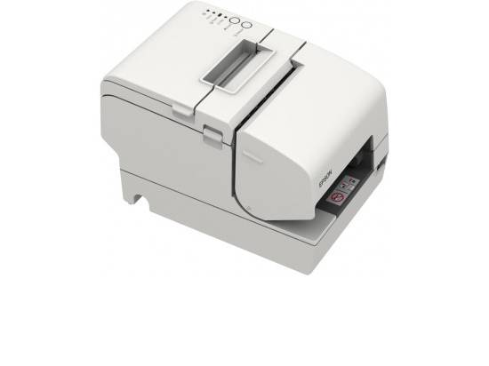 Epson TM-H6000IV Serial & USB Multifunction Printer w/ MICR & Endorsement (M253A)- White