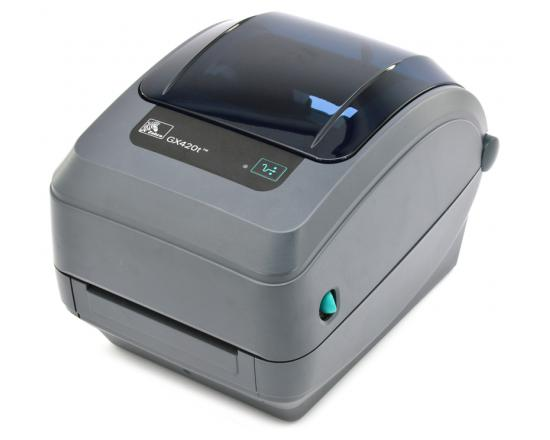 Zebra GX420T Parallel Serial USB Thermal Label Printer (GX42-102510-000) - Grade A