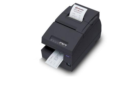 Epson TM-U675 Ethernet Multifunction Printer - Black