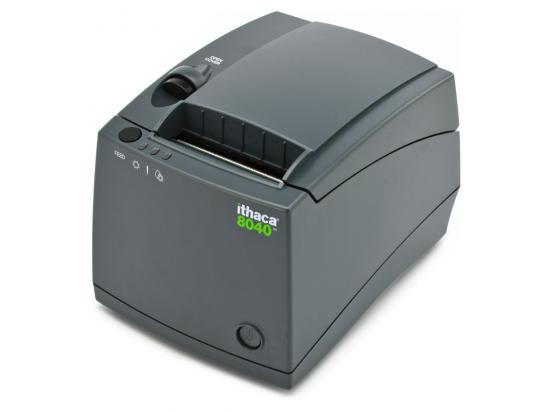 Ithaca 8040 Parallel Receipt Printer - Black