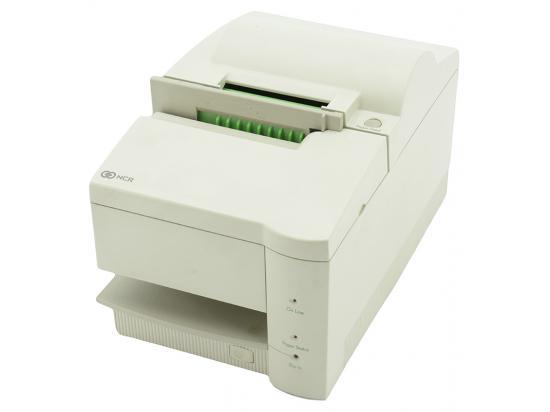 NCR 7141 9-Pin Serial Receipt Printer (7141-0402-9001) - White - Grade A