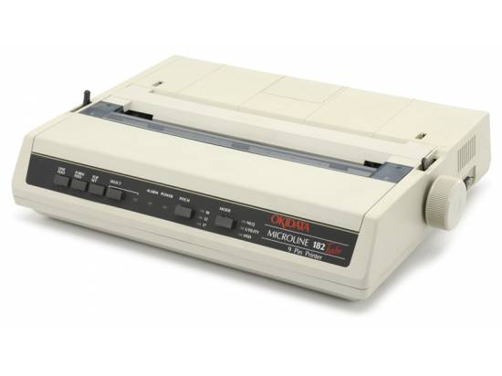 Okidata Microline 182 Turbo  Parallel Printer Microline Standard Emulation (GE5250U) -Grade A