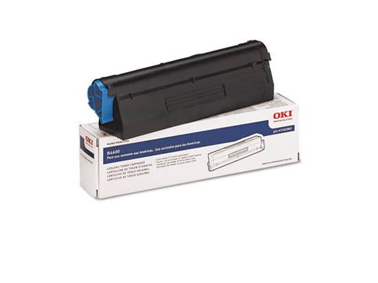 Okidata B4500 / B4600 High-Capacity Toner Cartridge - OEM (43502301)