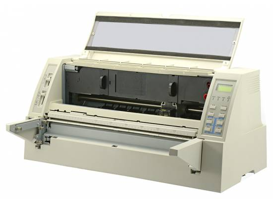 ADP Accel 7350 Parallel Serial USB F&I Printer - No Paper Rack or Tractor Assembly (AMT7350)