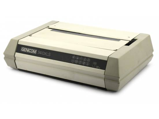 Genicom 3410 XLS Parallel Serial USB Dot Matrix Printer (3410XLS)