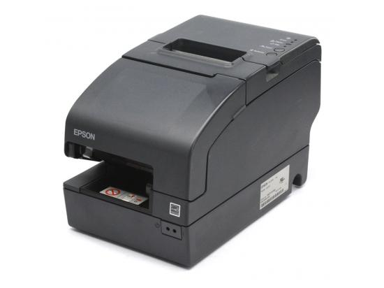 Epson TM-H2000 M255A USB Dual Function Receipt / Endorsement Printer  Gray