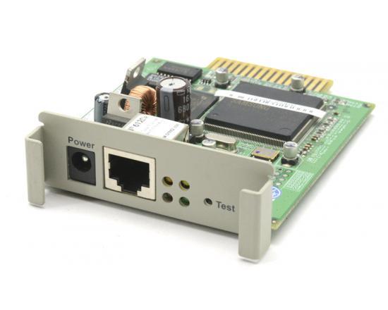 Okidata OkiLAN 6120e 10/100 Base-T Ethernet Print Server (50123101)