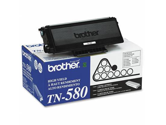 Brother OEM Black Toner Cartridge (TN580)