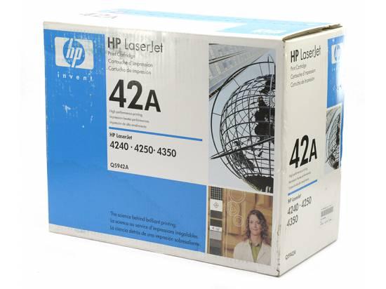 HP OEM 42A Black Toner Cartridge (Q5942A)